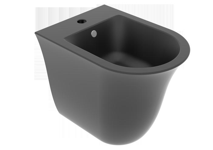 Підлогове біде GSG Flut matt Black (FLBI01003)
