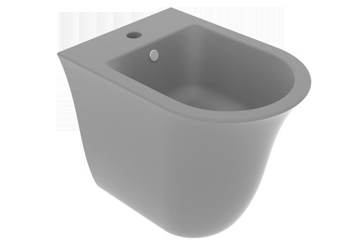 Підлогове біде GSG Flut matt Cement (FLBI01020)