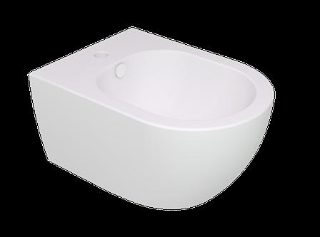 Підвісне біде GSG LIKE 52,5 см white matt (LKBISO001), фото 2
