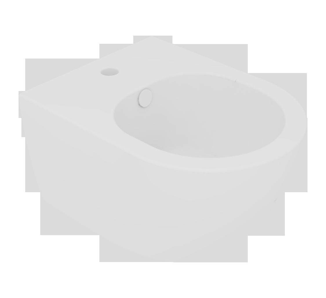 Підвісне біде GSG LIKE XXS 48,5 см white matt (LKBISOXXS001)