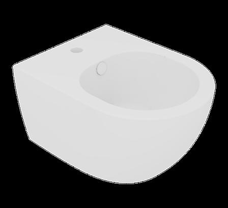 Підвісне біде GSG LIKE XXS 48,5 см white matt (LKBISOXXS001), фото 2