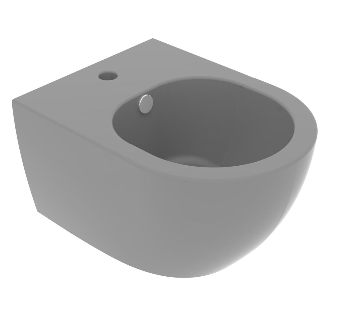 Підвісне біде GSG LIKE XXS 48,5 см matt Cement (LKBISOXXS020)