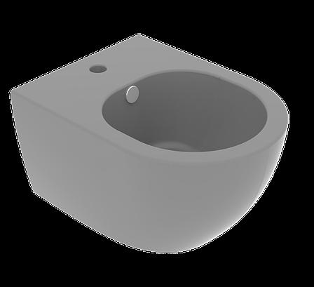 Підвісне біде GSG LIKE XXS 48,5 см matt Cement (LKBISOXXS020), фото 2