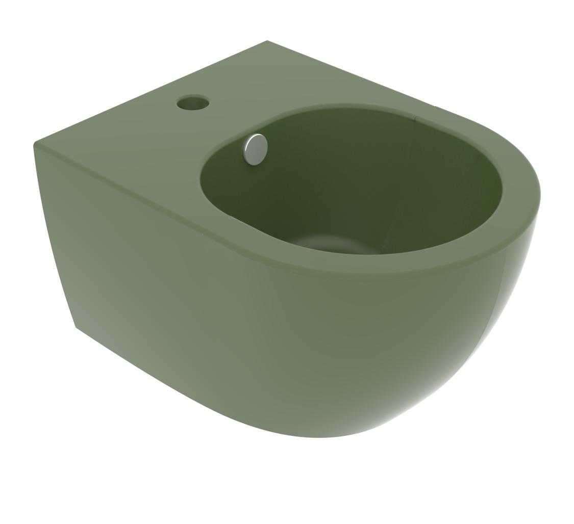 Підвісне біде GSG LIKE XXS 48,5 см Olive (LKBISOXXS026)