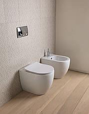 Підлогове біде GSG LIKE 52,5 см white glossy (LKBI01000), фото 3