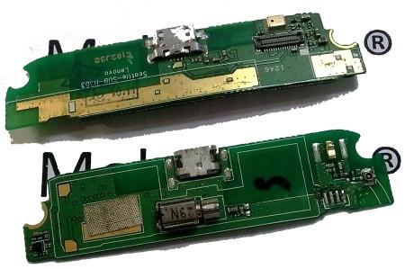 Разъем заряда на плате для Lenovo S720, micro-USB