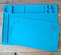 Коврик органайзер на рабочий стол TE-601 в комплекте 2 ковра 24,5см на 41см и