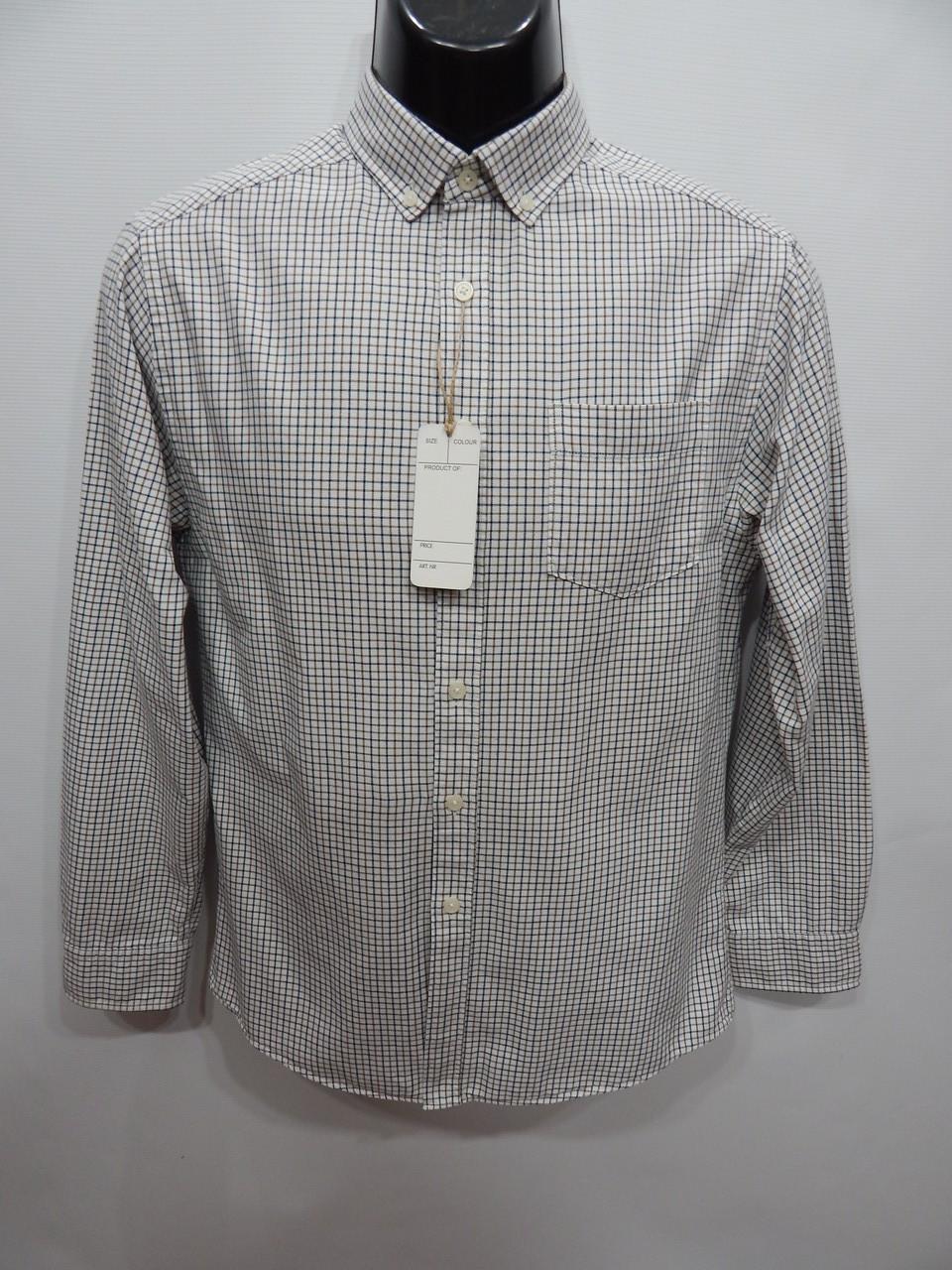 Мужская теплая рубашка с длинным рукавом TU р.46 078RT