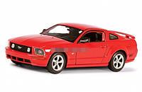 Модель машины 1:24 Ford Mustang Gt 2005 WELLY