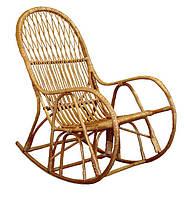 Кресло - качалка плетеное из лозы