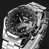Мужские механические часы Winner Titanium с автоподзаводом/ Гарантия