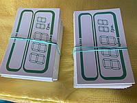 Ценники картонные,прямоугольные 100 шт/уп