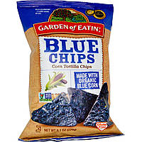 Garden of Eatin', Кукурузные чипсы Tortilla, синие чипсы, 229 г