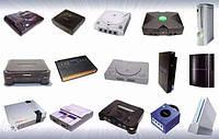 Ігрові приставки Sony Playstation 2,3, PSP, Xbox360