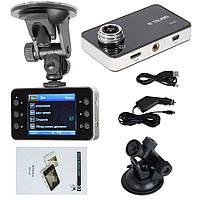 Автомобильный видеорегистратор Vehicle Blackbox DVR DVR Full HD K6000