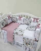 Бортики в кроватку, детское постельное белье