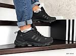 Чоловічі зимові кросівки Adidas Climaproof (чорні), фото 3