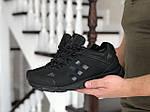 Чоловічі зимові кросівки Adidas Climaproof (чорні), фото 4