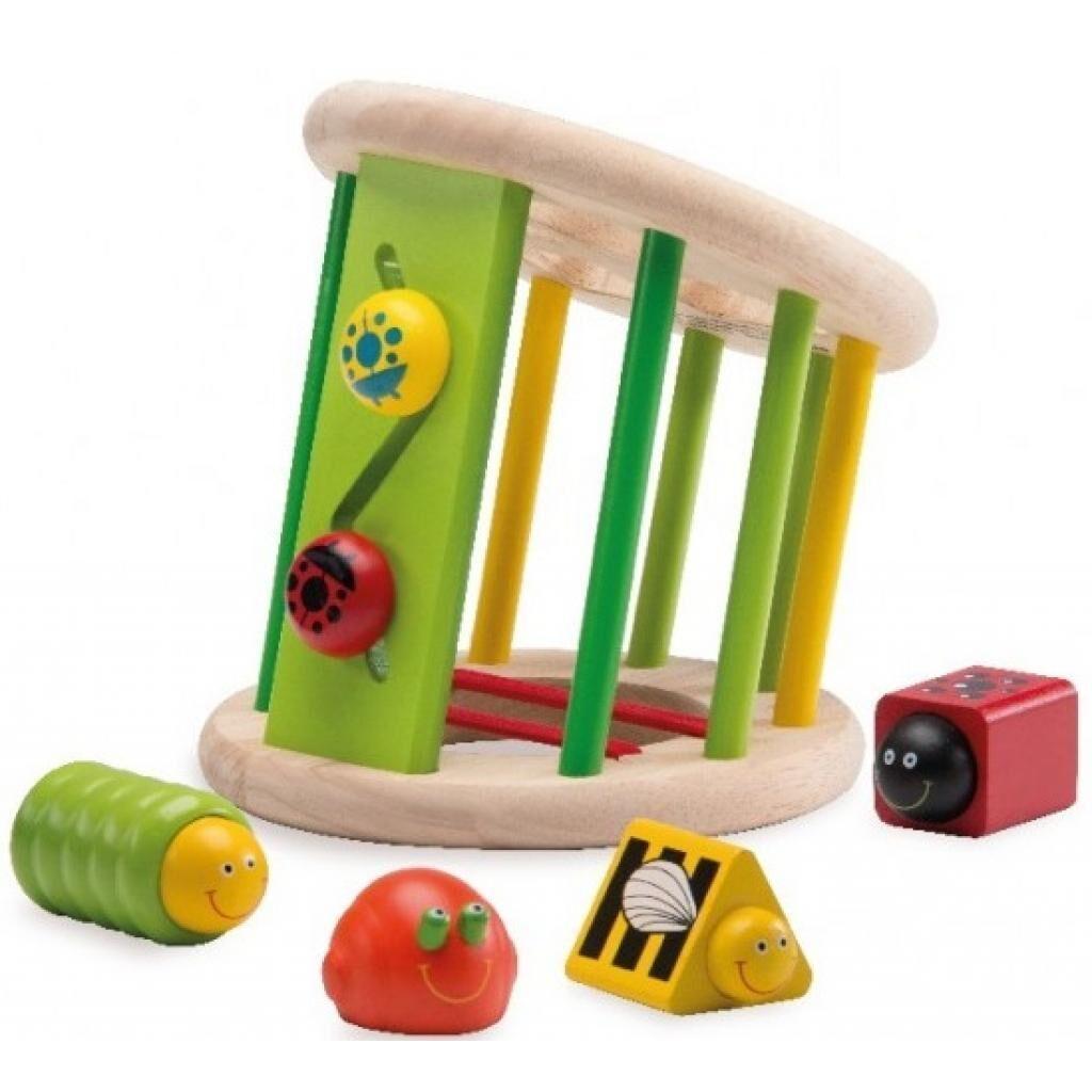 Развивающая игрушка WonderWorld Сортер Сад жуков (WED-3047)