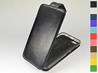 Откидной чехол из натуральной кожи для Lenovo A2020