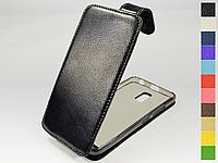 Откидной чехол из натуральной кожи для Lenovo A3860