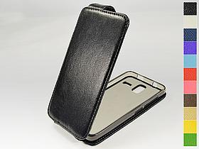 Откидной чехол из натуральной кожи для Lenovo S580