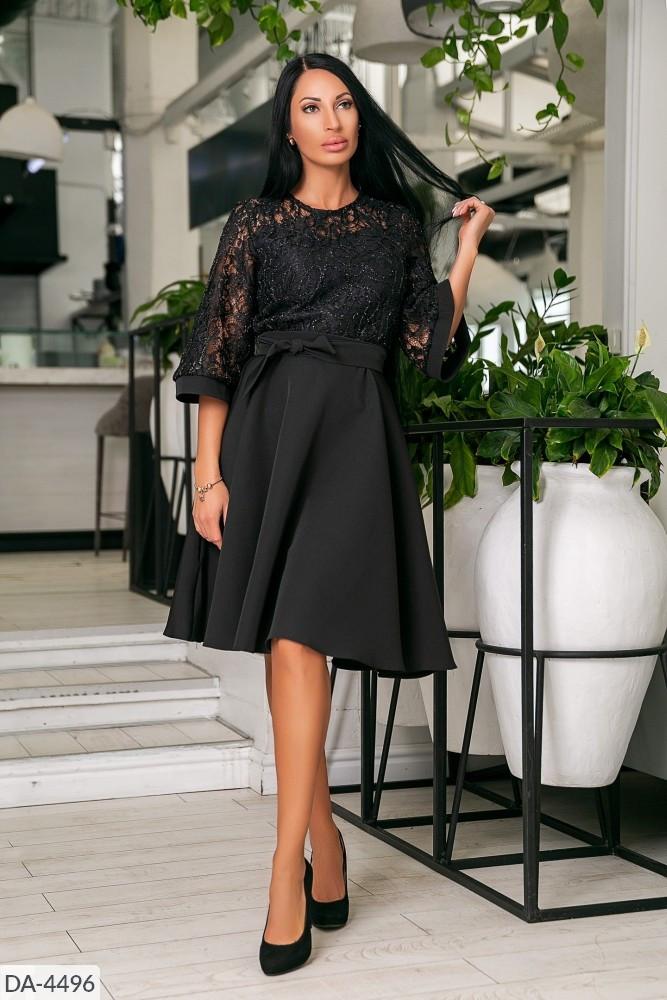 Стильное платье    (размеры 46-52) 0218-51