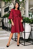Стильное платье    (размеры 46-52) 0218-51, фото 2
