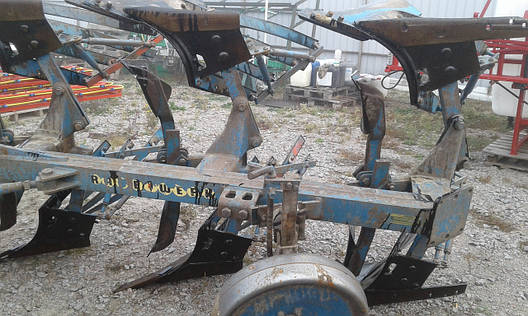 Плуг оборотний навісний 3 корпуси RabeWerk Германия, фото 2