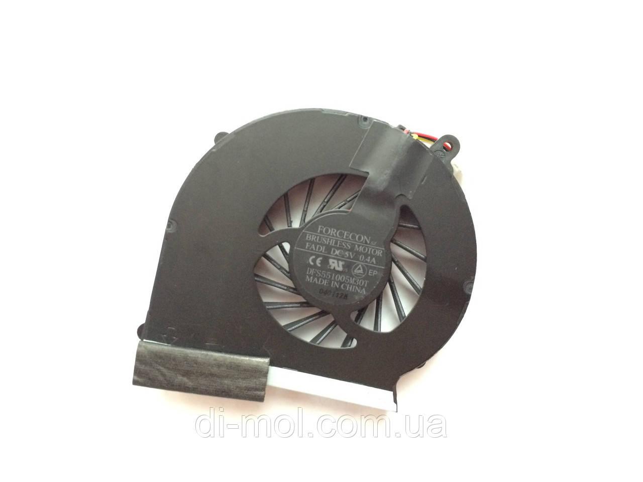 Вентилятор для ноутбука HP COMPAQ CQ43, CQ57, 430, 431, 435, 436, 630, 635, 636 series, 3-pin