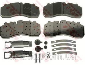 Комплект тормозных колодок, дисковый тормоз ( для суппортов Knorr SB/SN ) ( TRW ) GDB5067