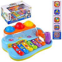 """Музыкальная развивающая игрушка Joy Toy ксилофон """"Бряк-звяк"""""""