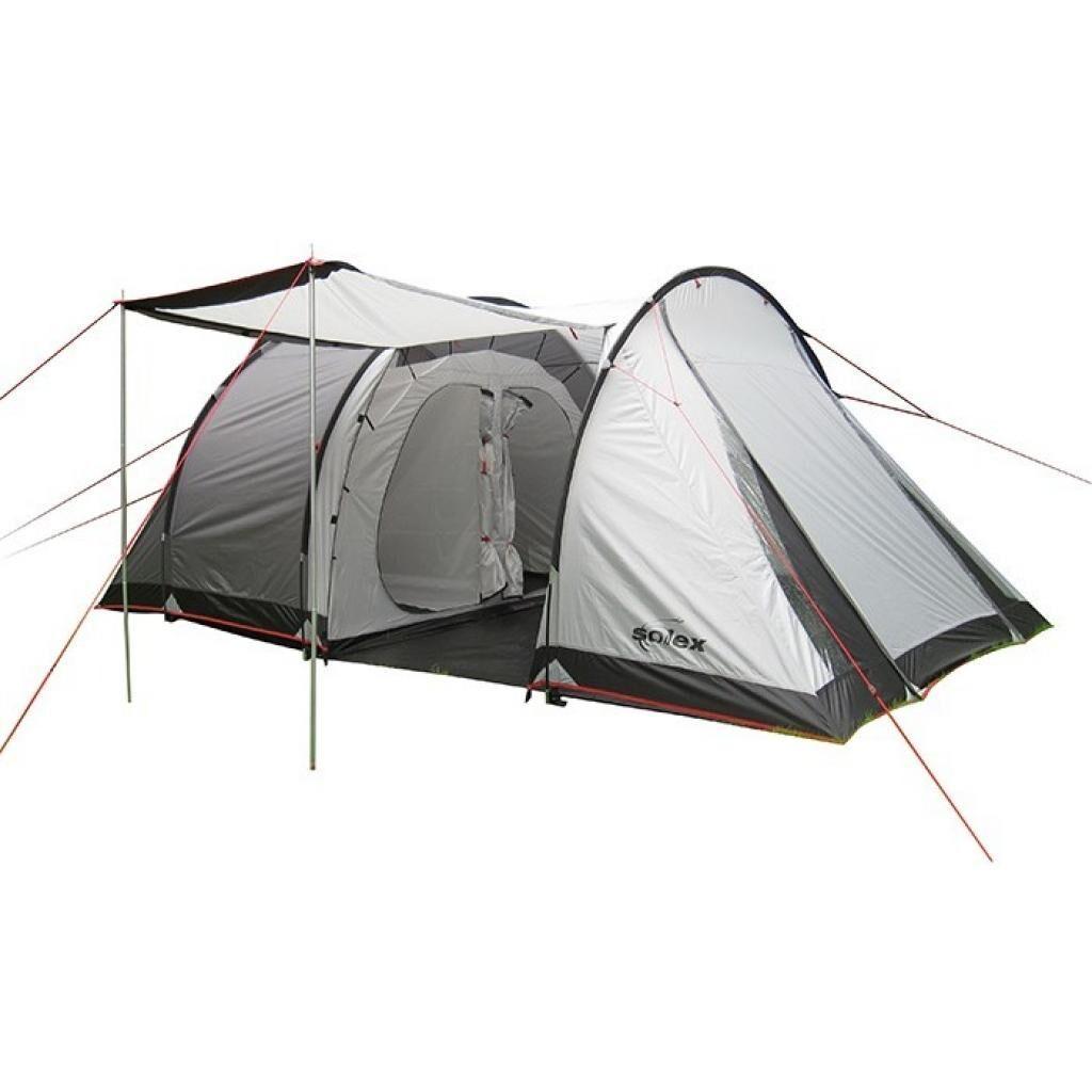 Палатка SOLEX четырехместная серая (82174GR4)