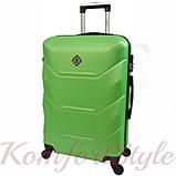 Дорожный набор чемоданов 3 штуки Bonro 2019 салатовый (10500305), фото 3