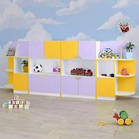 Детская стенка для игрушек «Чебурашка»