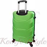 Дорожный набор чемоданов 3 штуки Bonro 2019 салатовый (10500305), фото 4