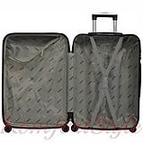 Дорожный набор чемоданов 3 штуки Bonro 2019 салатовый (10500305), фото 5