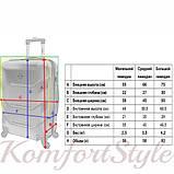 Дорожный набор чемоданов 3 штуки Bonro 2019 салатовый (10500305), фото 6