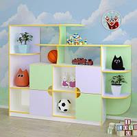 Детская стенка для игрушек «Малыш»