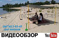Бюджетный 2х3м Навес для Пляжа Тент от Солнца Зонт пляжный Палатка