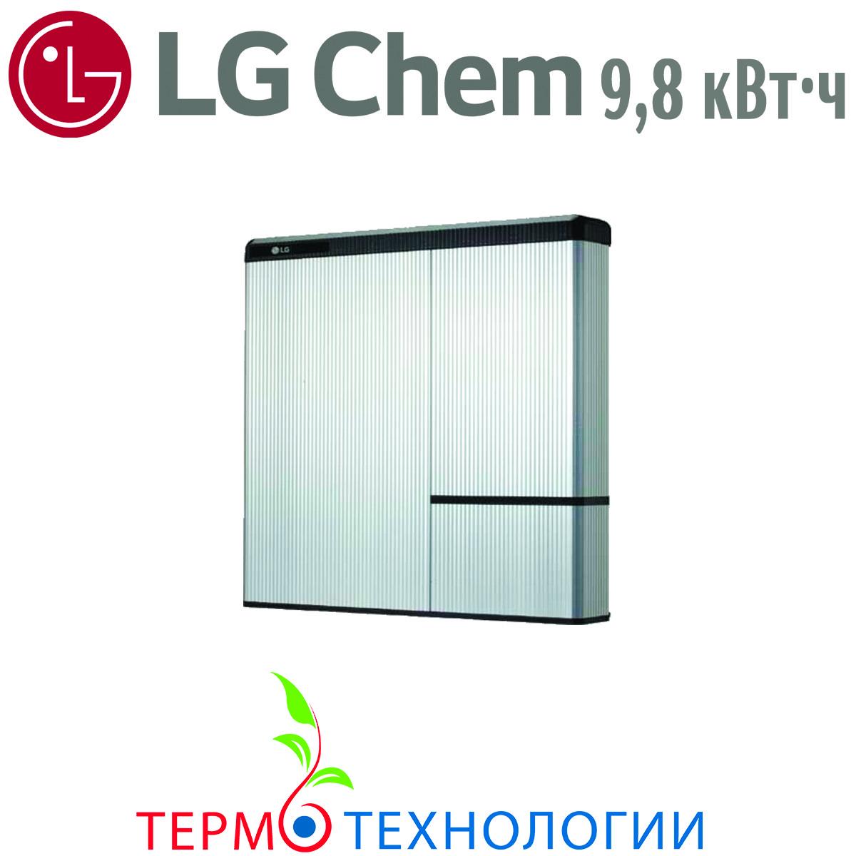 Литий-ионные аккумуляторы LG Chem RESU 9,8 кВт*ч для инвертора SolarEdge