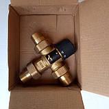 """Трехходовой термостатический смесительный клапан 3/4"""", 35-60 С (Вывод по центру), фото 6"""
