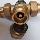 """Трехходовой термостатический смесительный клапан 3/4"""", 35-60 С (Вывод по центру), фото 5"""