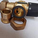 """Трехходовой термостатический смесительный клапан 3/4"""", 35-60 С (Вывод по центру), фото 4"""