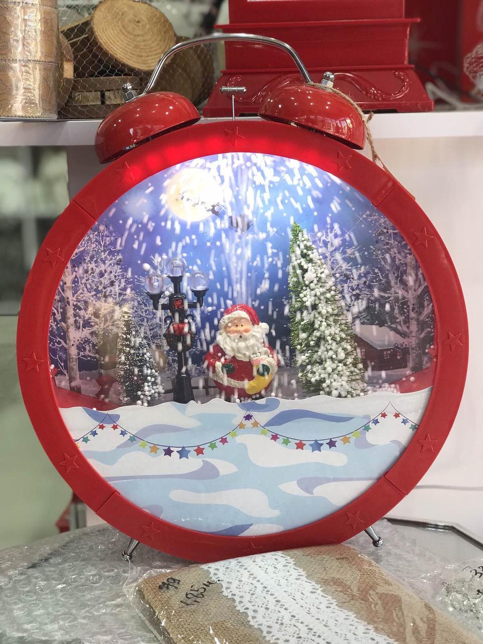 Рождественские часы