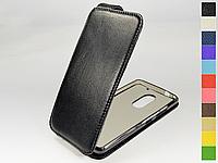 Откидной чехол из натуральной кожи для Lenovo Vibe X3