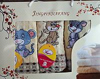 Кухонный набор вафельных полотенец Крысы, фото 1