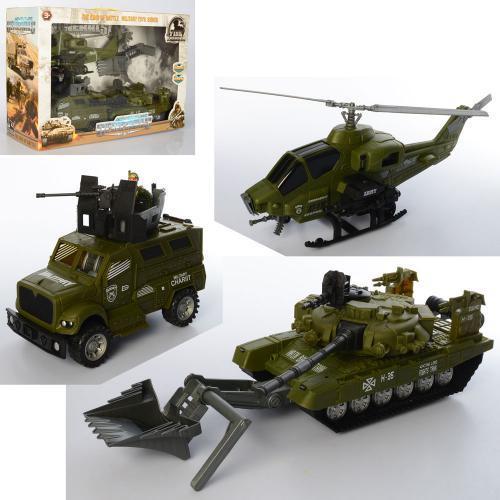 Игровой набор Военный транспорт 3539-6 игровой набор для мальчиков