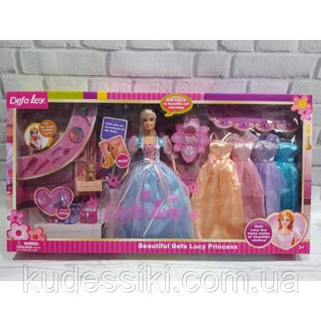 Набор Кукла Defa Дефа модница с косметикой, обувью и ...