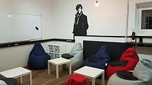Бескаркасная мебель (лежаки, мячи, пуфики, диваны, кресла-мешки)